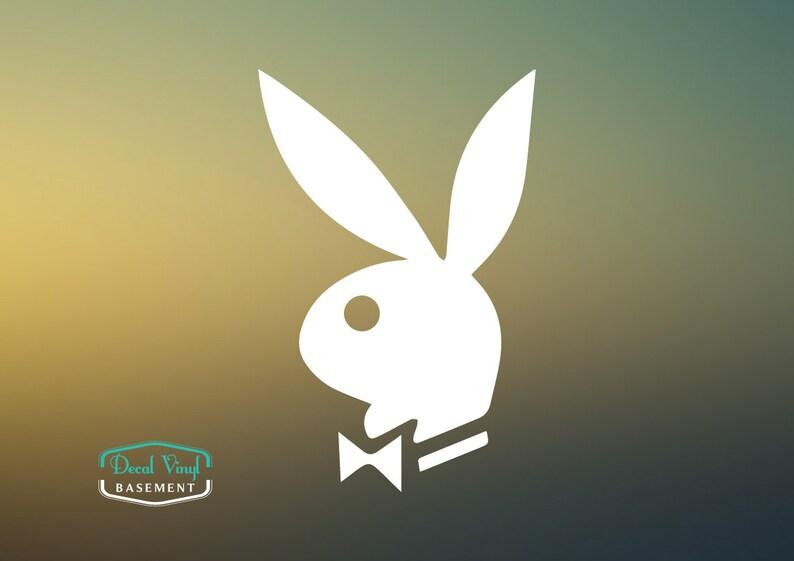 Playboy Playmate Bunny Vinyl Gestanzte Laptop Wand Telefon Auto Aufkleber Aufkleber