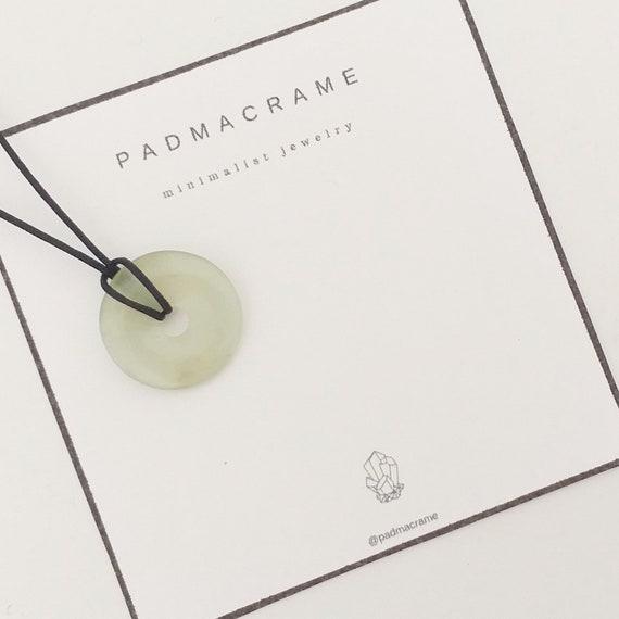 Collar donut de jade