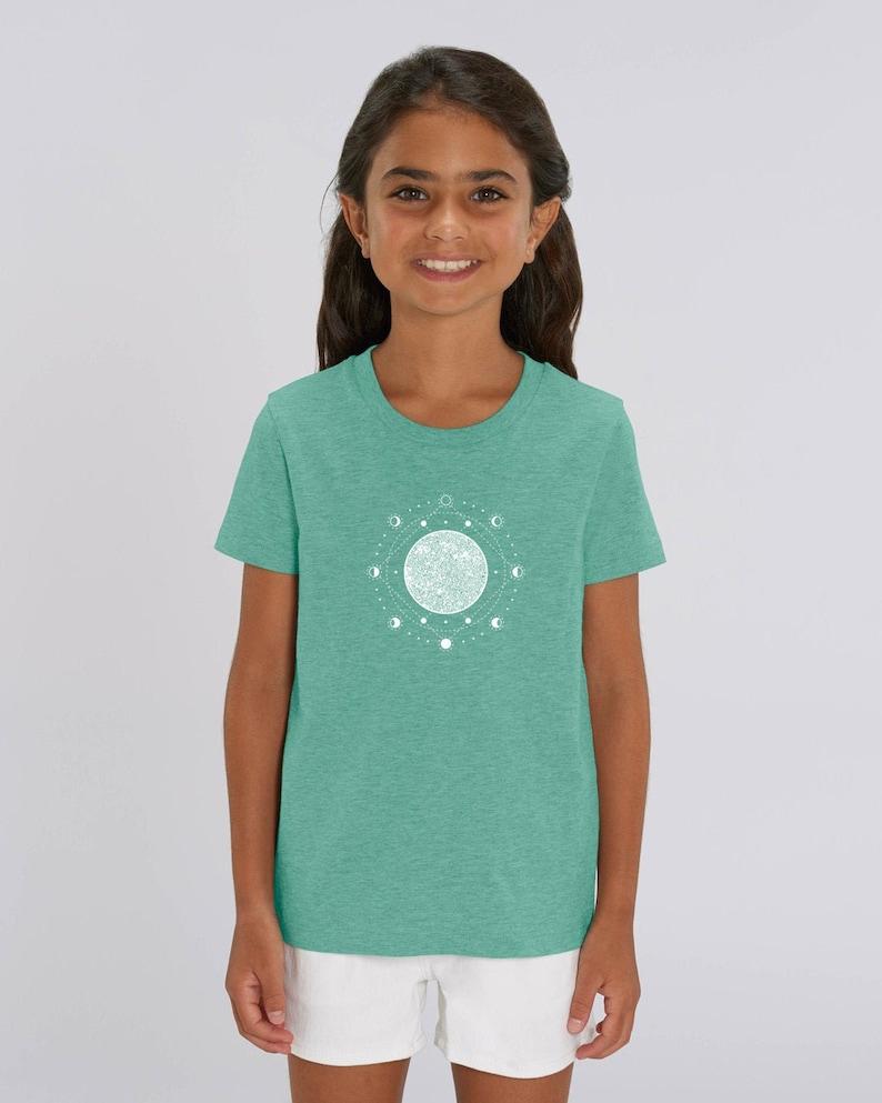 Kids ORGANIC T-Shirt with MOND  Design image 0
