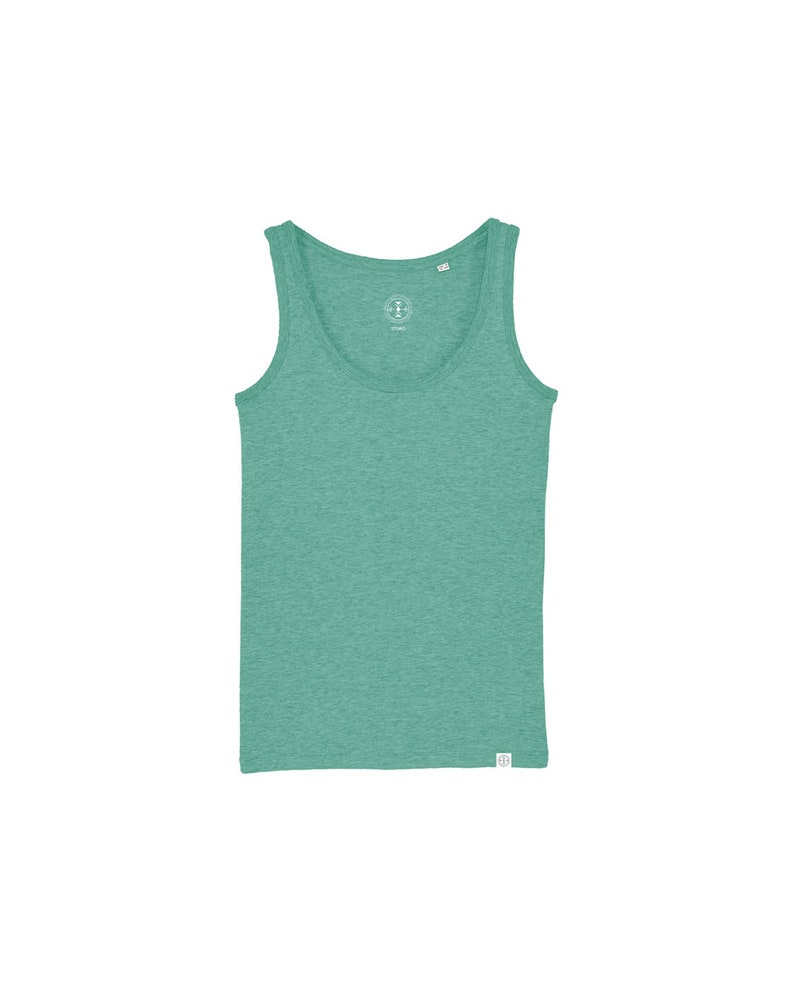Women's ORGANIC Tank Top  Colors Melted image 0