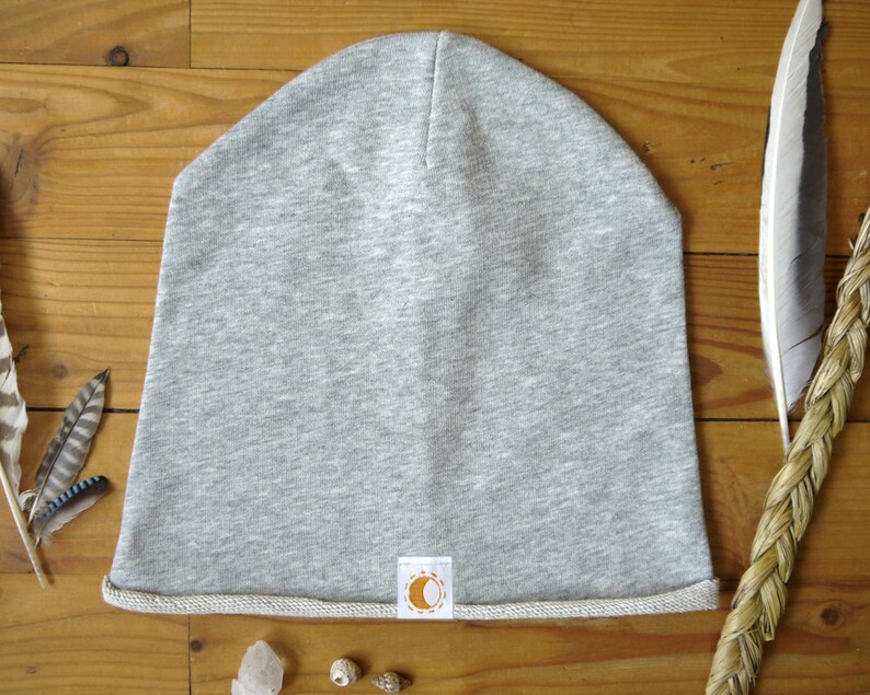 BIO Moondance hood/cap/beanie with moon design image 0