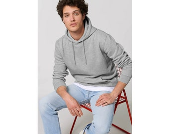 men organic hoodie - high quality in beautiful colours