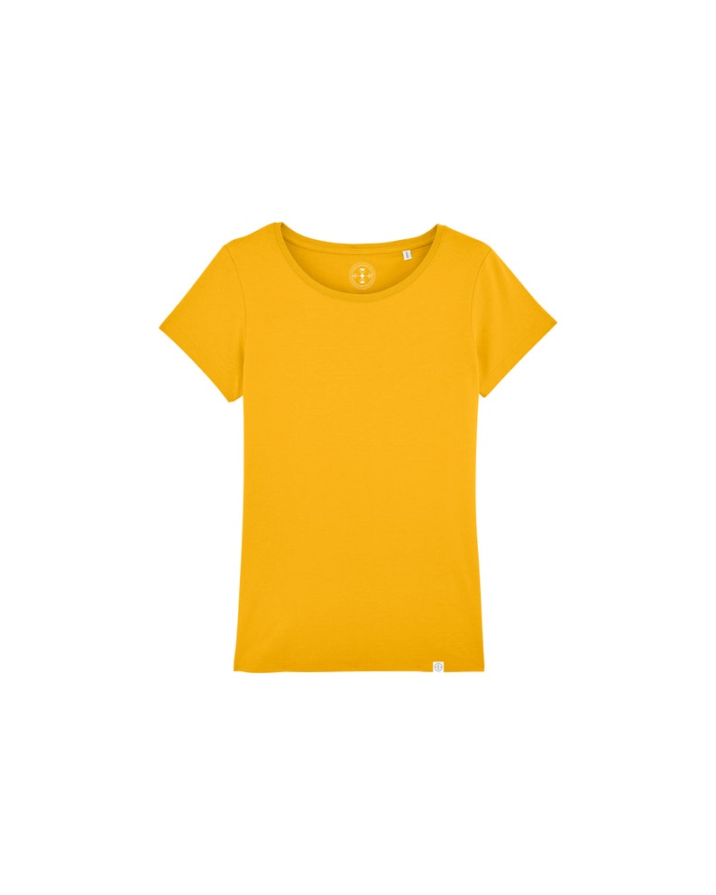 ORGANIC Women's Basic T-Shirt in Many Colors image 0