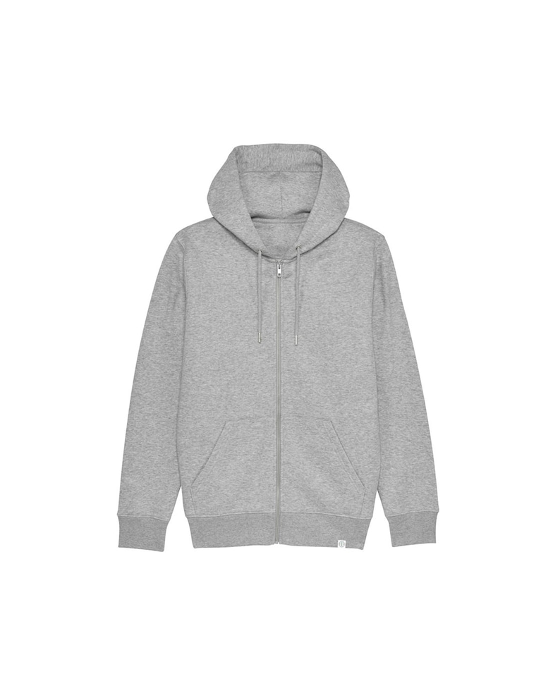 Men's Organic Hoodie  Hooded Sweater with Zip image 0