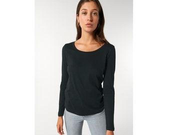 organic longsleeve T-Shirt, fair production