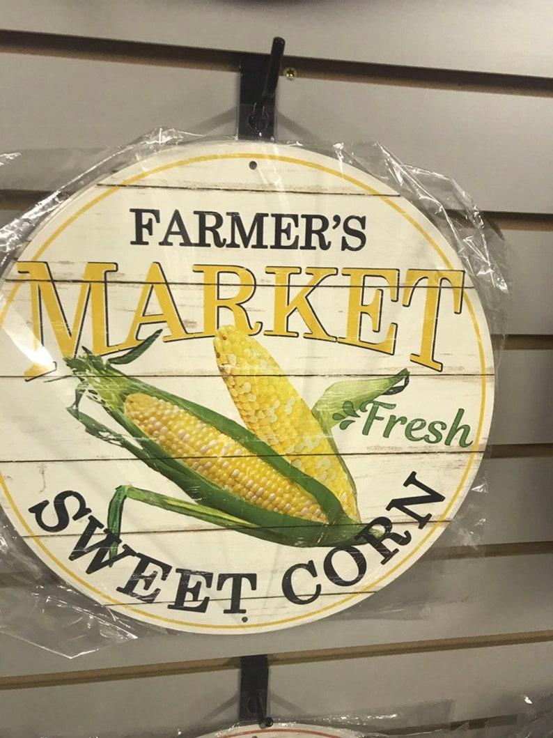 Gift Idea Farmers Market Sweet Corn Sign Sweet Corn Sign image 0