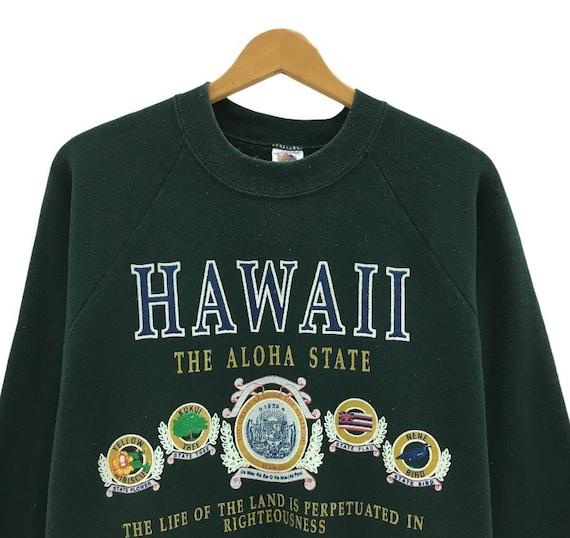 Hawaii The Aloha State Commemorative 1959 Brass Belt Buckle byThe Great American Buckle Co