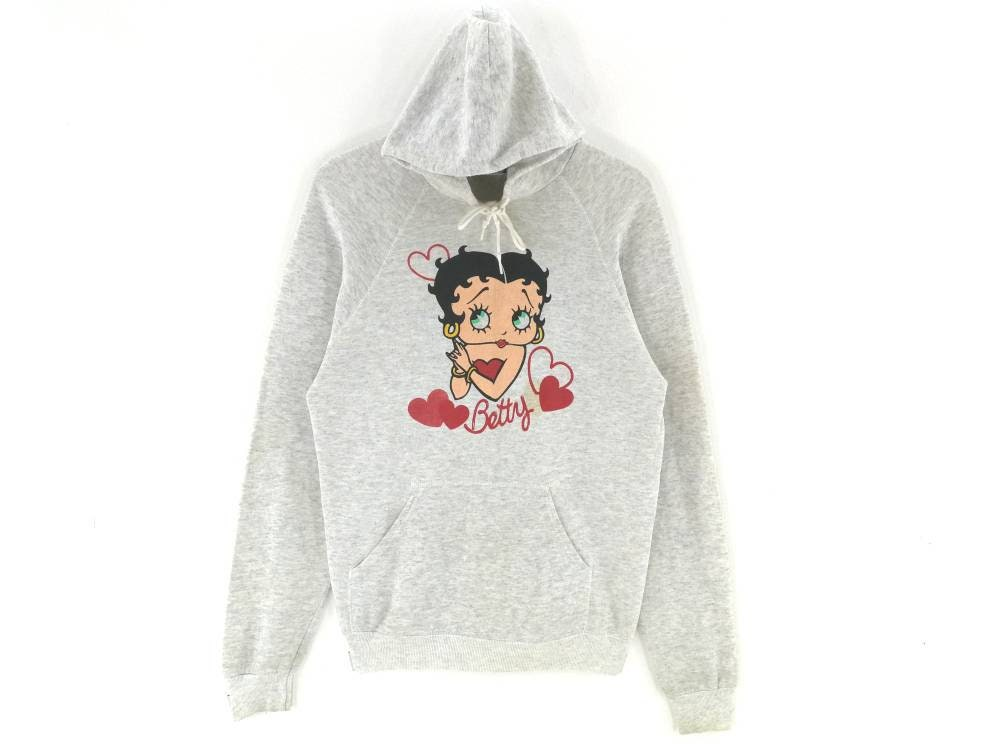Rare Boop Vintage 80 S Lee Betty Boop Rare Sweat à Capuche
