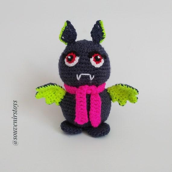 Häkeln Spielzeug Fledermaus Stricken Gefüllte Tier Fledermaus Etsy