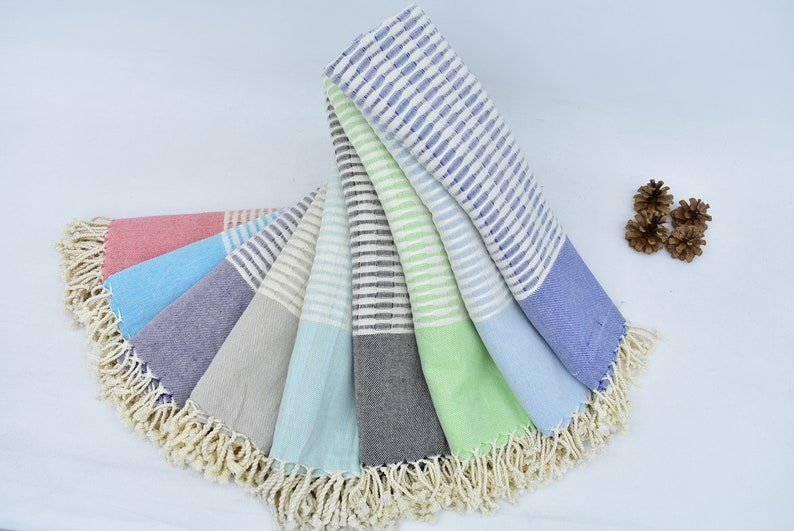 76x36 Multicolor Towel Beach Towel Organic Cotton Towel Peshtemal Towel Honeycombed Towel Mld-Ymmy/_681 Turkish Towel Set Of 10 Towel