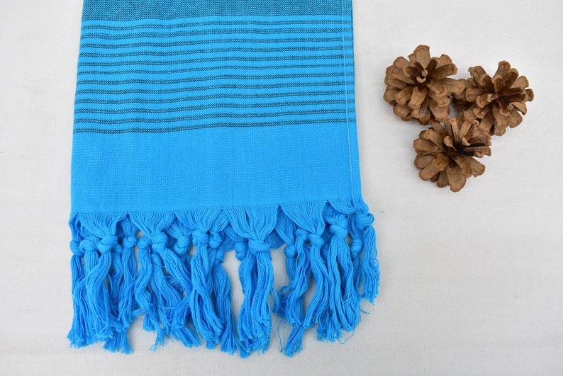 Blue Towel 20x36 Towel Cotton Towel Wedding Gift Towel Hppy-Byl-Pskr/_010 Turkish Hand Towel Hand Towel Tea Towel Overdyed Towel