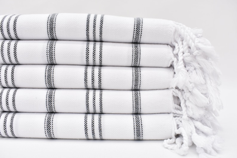 Turkish Hand Towel Turkey Hand Towel Striped Towel Hand image 0