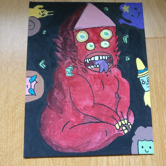 Cartoon Adventure Time Golb Etsy
