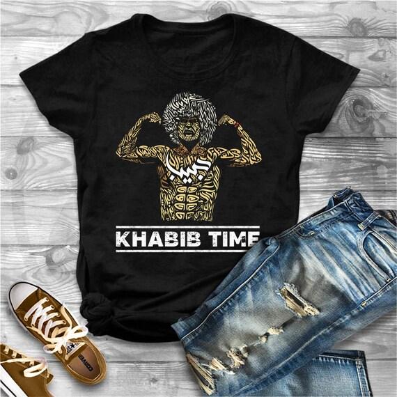 5e22244b3 Khabib Nurmagomedov shirt It Is Khabib Time shirt khabib   Etsy