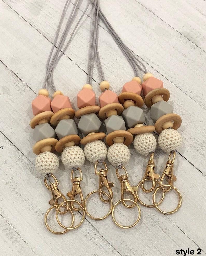 Beaded lanyard breakaway lanyard lanyard necklace lanyard style2