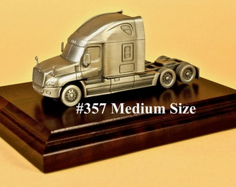 Truck Driver Gifts For Truckers Award Trophy Model Semi Tractor Cab Million Mile Safe Driver Employee Recognition Gift