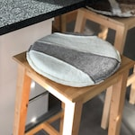 2 different designs - one seat cushion