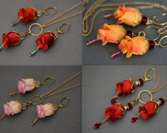 Flower And Jewelry Art