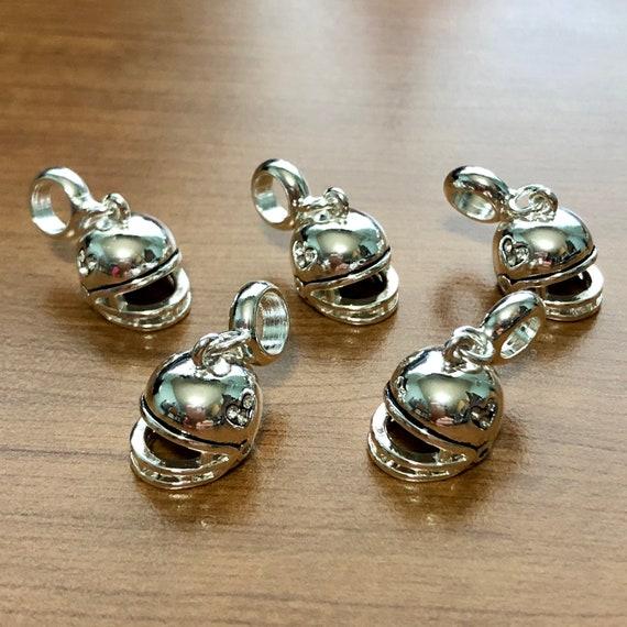 Buy 2 or More DaVinci and Save! FOOTBALL HELMET Dangle Davinci Beads Charm