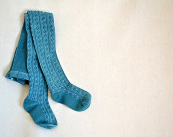 a69911ed0fa Baby cable knit tights