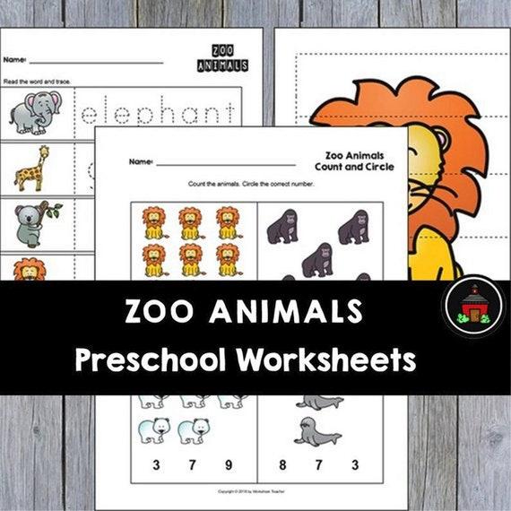 25 Zoo Animals Preschool Curriculum Activities  Preschool