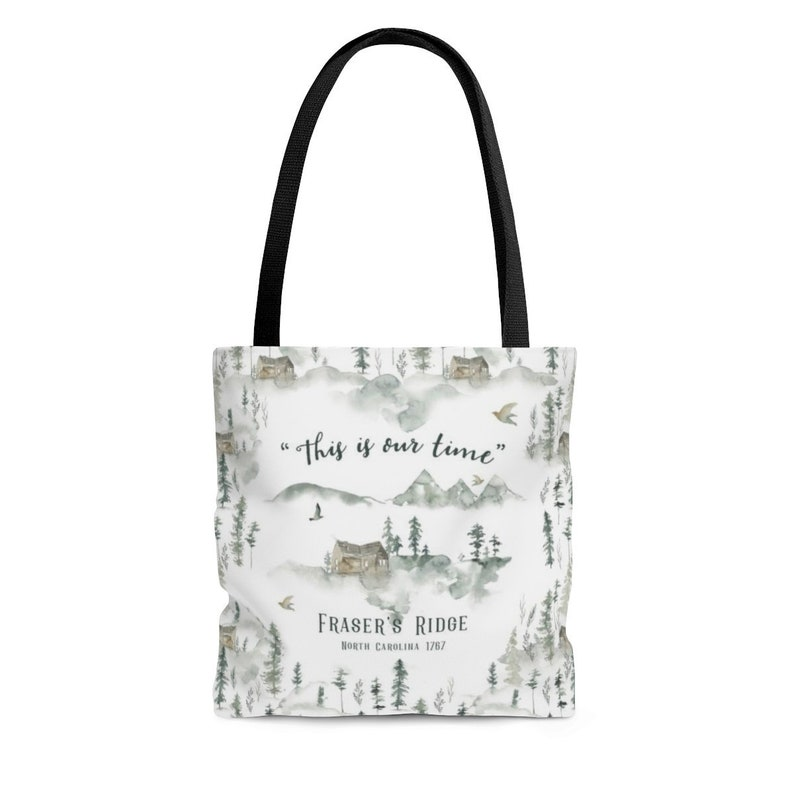 Bag Tote Frasers Is Time Outlander Large 1767Etsy This Our Ridge zMGqVSUp