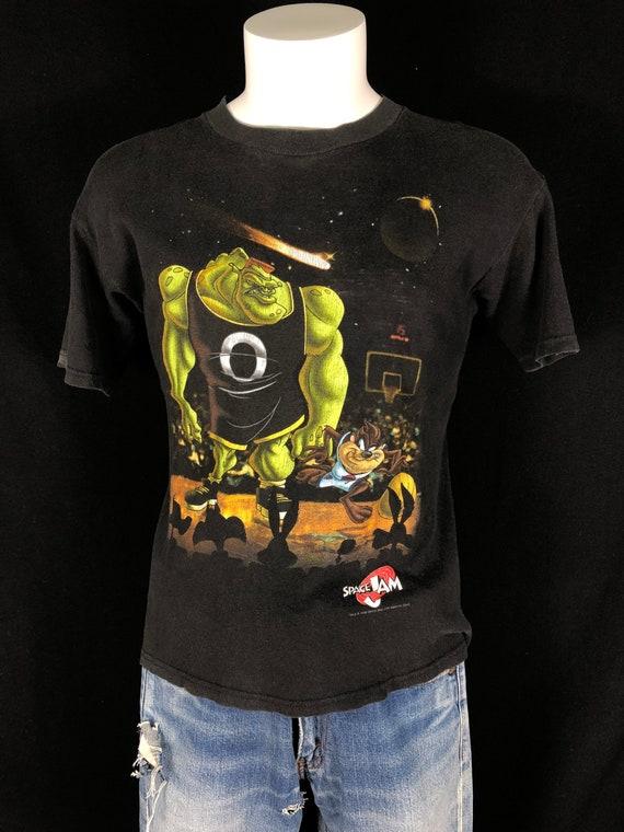 Vintage 90s 1996 Space Jam Shirt