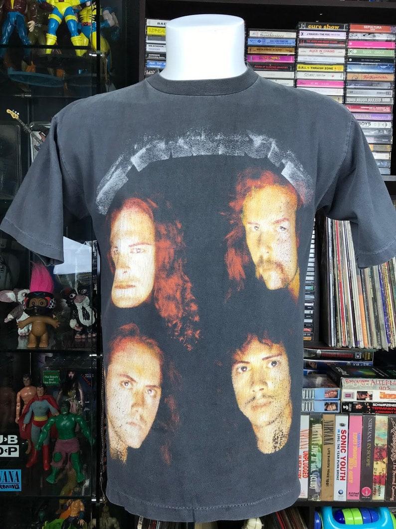 Vintage 90s Metallica Black Era Bootleg Shirt