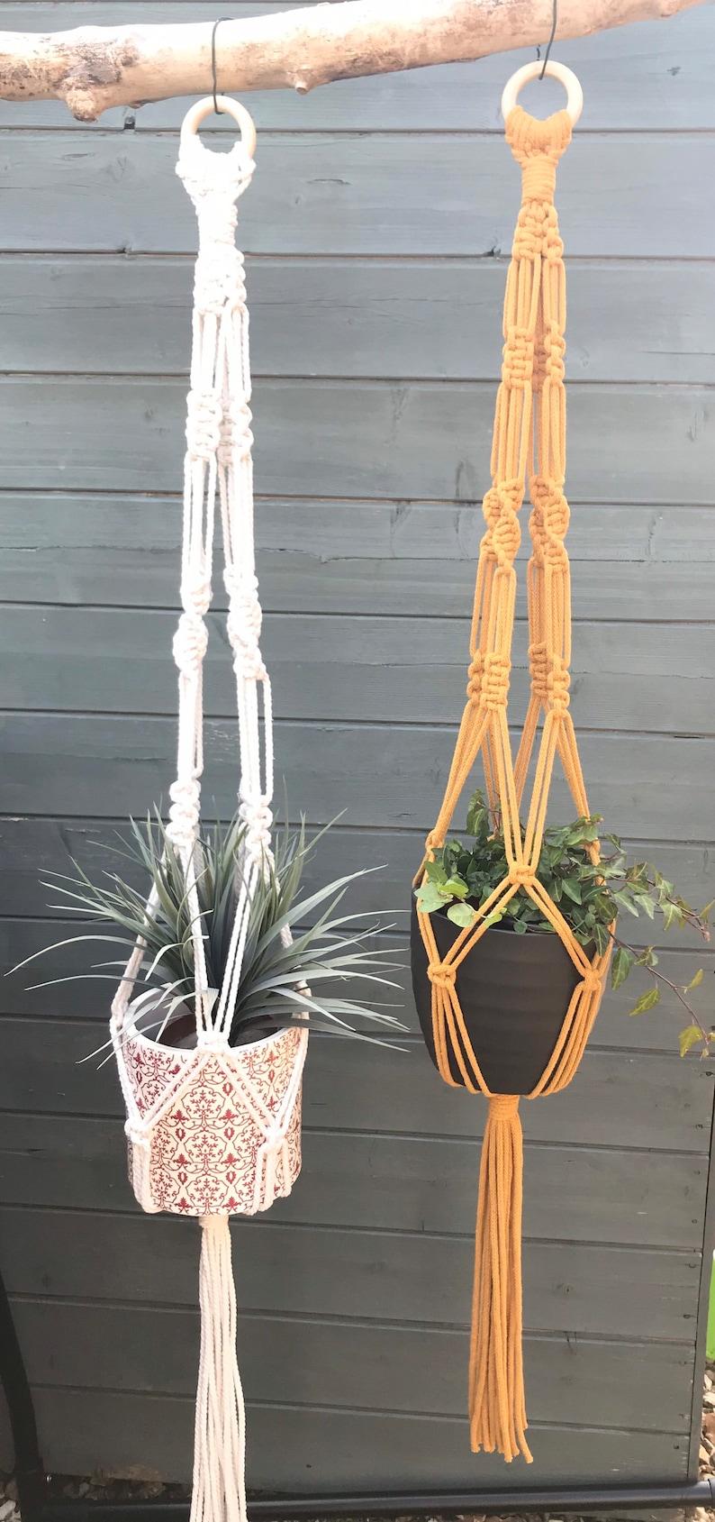 Boho Macrame Plant Hanger