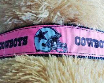 ce50443bf8e Dallas Cowboys Dog Collar, NFL Dog Collar, Dog Collar, Cowboys Dog Collar,  Designer Dog Collar, Adjustable, Designer Inspired, 1