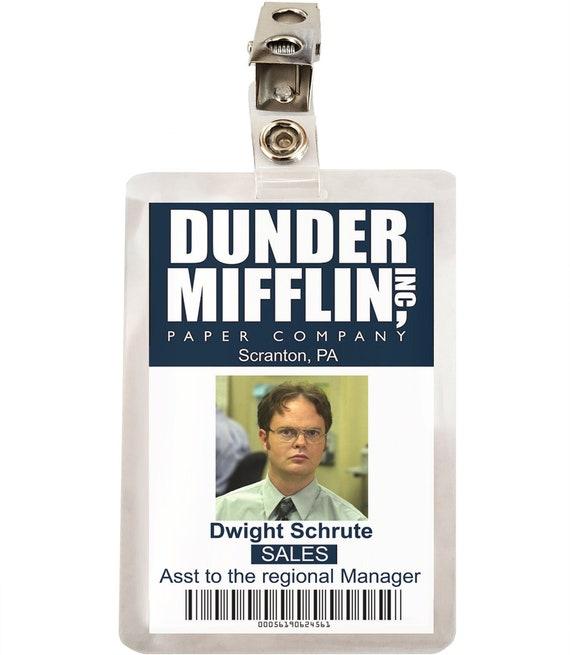 Dwight Schrute Badge