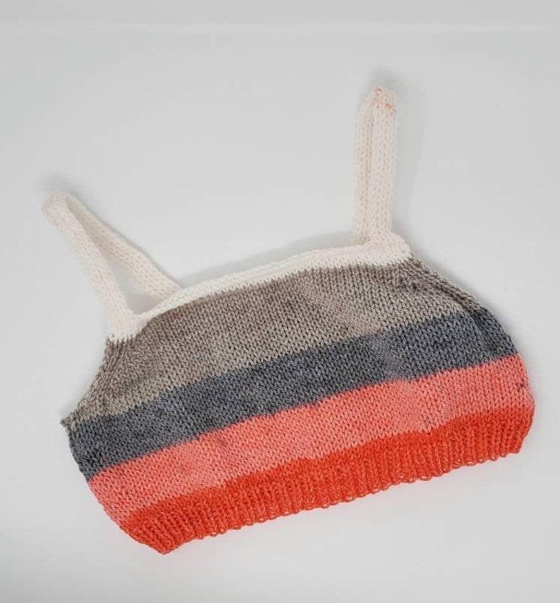 Pink Crop Top Short Crop Top Handmade Crop Top Ready to Ship Knit Crop Top Handmade Bralette Boho Crop Top