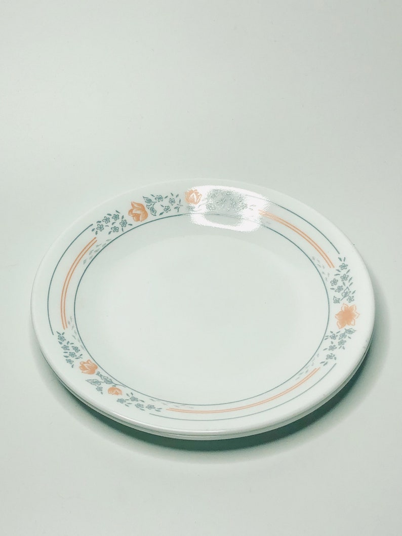 Flower Pattern Dessert Plates Boho Home Apartment Decor Vintage Dessert Plates Small Vintage Dinner Plates