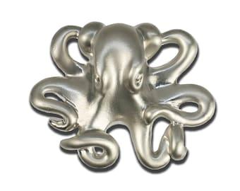 Octopus Drawer Pulls, Beach Decor, Coastal Drawer Pulls, Nautical Drawer Pulls, Sea Life Cabinet Knobs, Ocean Theme Drawer Pulls and Knobs