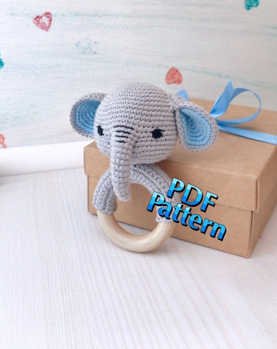 Baby Knitting Patterns Baby Elephant-Instant Download Crochet ... | 719x570