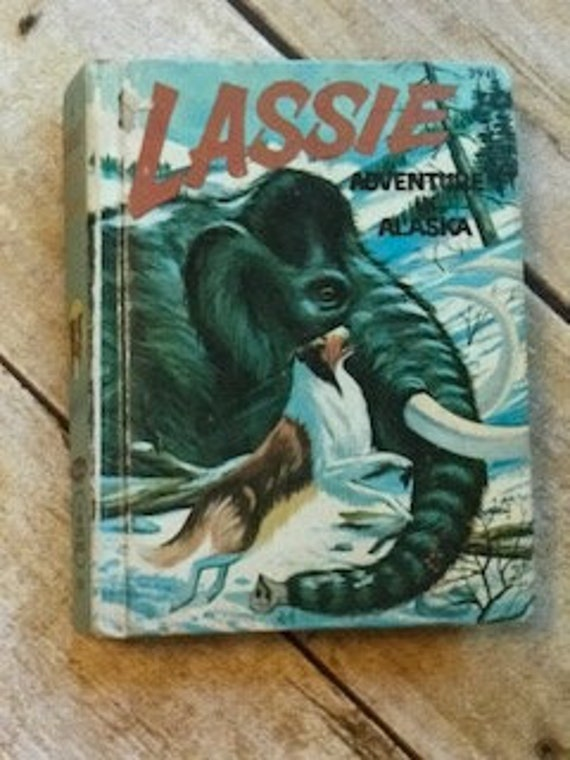 Lassie Adventure in Alaska 1967 Whitman A Big Little Book