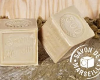 Original Marseille Soap - Marseille Soap - Traditional Soap - Natural Soap - Cube de Marseille - Soap 300g