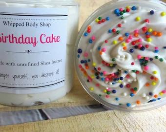 Birthday Cake Soap Whipped Vanilla Moisturizing Body Wash