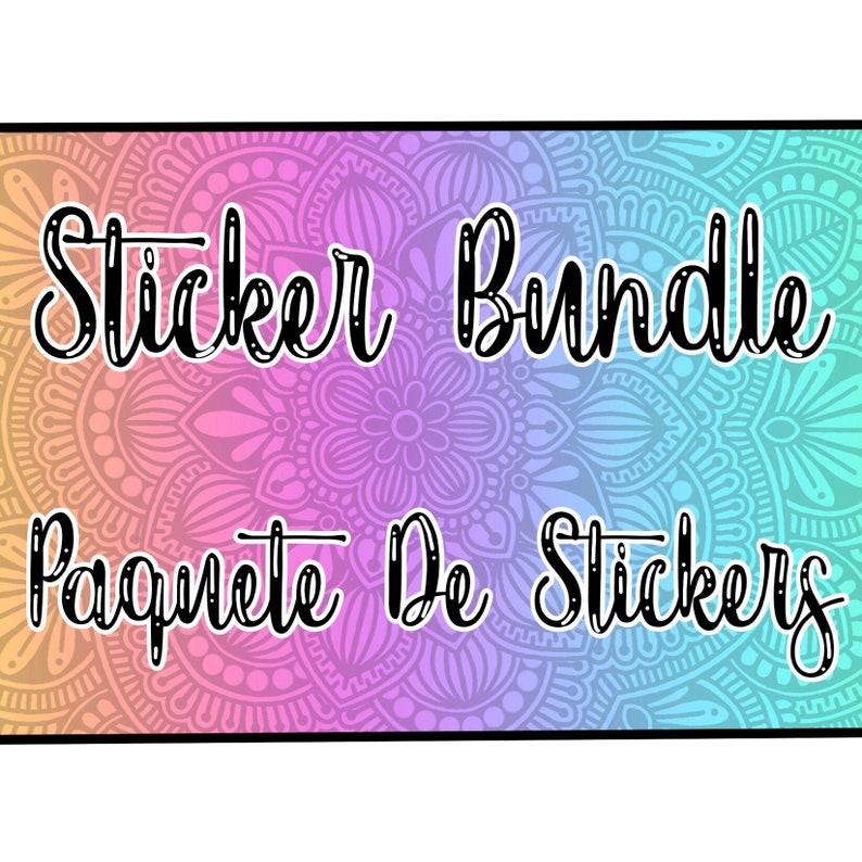 Sticker Bundle ( glossy sticker paper)