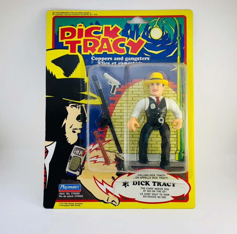 1990 NOS Dick Tracy  Coppers and Gangsters Action Figure image 0