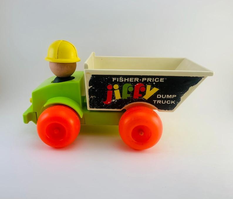 1971-73 Fisher Price Jiffy Dump Truck image 0