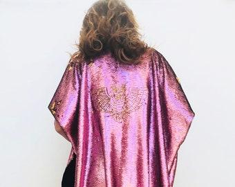 5f8b5ca1c33 Embroidered Sequins Kimono