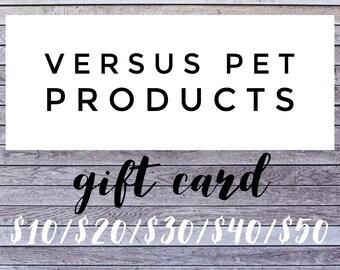 Versus Pet Products