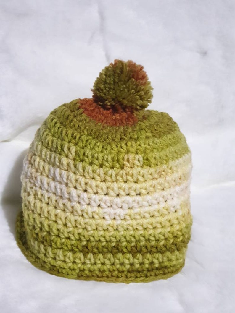 Toddler beanie Unisex Kids knit hat Small knit hat Unisex kids hat. Kids beanie Kids pompom Beanie Toddler knit hat Crochet Beanie
