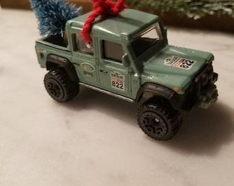 Custom Jeep Wrangler Christmas Ornament 1//64 Adorno SUV Rubicon YJ Sahara TJ XJ