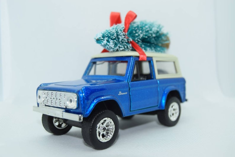 Ford Bronco with Tree Ornament image 0
