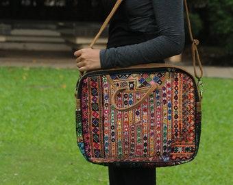 26d04b1cee09 Tribal Gypsy Coin Hand Bag Vintage Banjara Shoulder Bag Handmade Women s  Hobo Bag Hand Embroidered Mirror Work Hippie Tote Bag