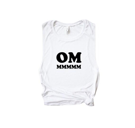 0c895bf8b81235 Yoga Om Tank Top Spiritual Shirt With Sayings Mindfulness