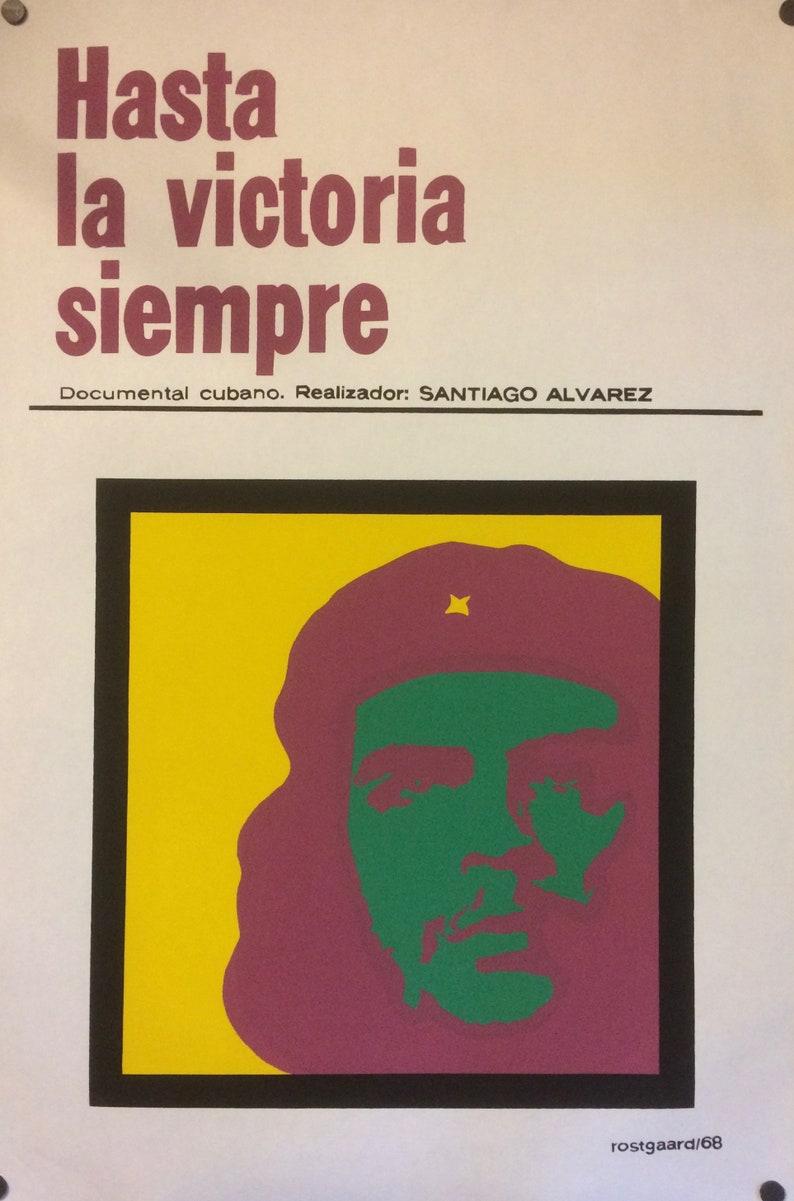 Nostros la Musica documantary ICAIC poster Art Original Silkscreen Movie CUBAN