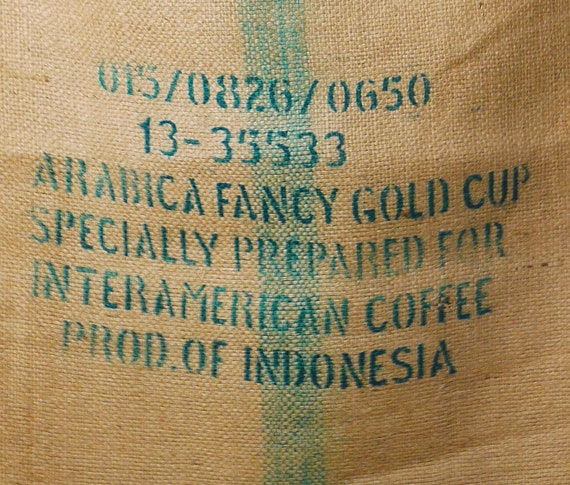 Coffee Burlap Bag Indonesia